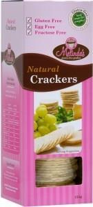 Melindas Natural Crackers G/F 125g