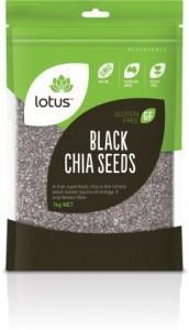 Lotus Chia Seeds Black G/F 1Kg
