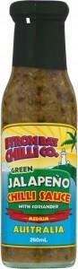 Byron Bay Chilli Green Jalapeno Sauce 250ml