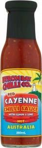 Byron Bay Chilli Red Cayenne Sauce 250ml
