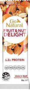 Go Natural Fruit & Nut Delight Bar 16x50g