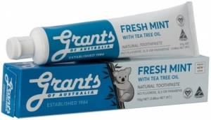 Grants Natural Fresh Mint with Tea Tree Oil Toothpaste (Blue) 110gm