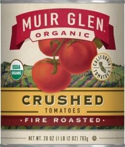 Muir Glen Tomatoes Fire Roasted Crushed 794gm