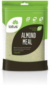Lotus Almond Meal OA* 125gm