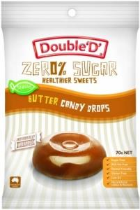 Double D Sugar Free Butter Candy Drops 70g