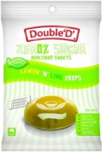 Double D Sugar Free Lemon 'n Lime Drops 70g