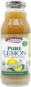 Lakewood Pure Organic Lemon Juice 370ml