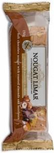 Nougat Limar G/F Hazelnut, Almond & Chocolate 150g