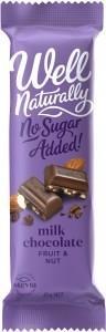 Well,naturally NAS Choc Fruit&Nut 16x45gm