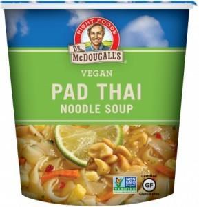 Dr McDougall Big Cup Soup Pad Thai Noodles G/F 57g