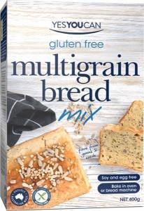 YesYouCan Multi Grain Bread G/F 400g