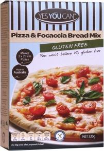 YesYouCan Pizza Dough G/F 320g
