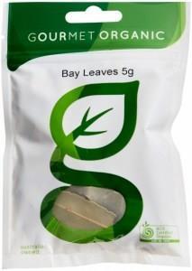 Gourmet Organic Bay Leaves 5g Sachet x 1