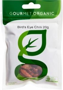 Gourmet Organic Bird's Eye Chili 20g Sachet x 1
