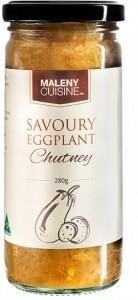 Maleny Cuisine Savoury Eggplant Chutney 280gm