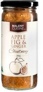 Maleny Cuisine Apple Fig & Ginger Chutney 280gm