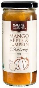 Maleny Cuisine Mango Apple & Pumpkin Chutney 280gm