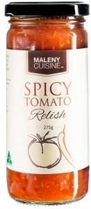 Maleny Cuisine Spicy Tomato Relish 275gm