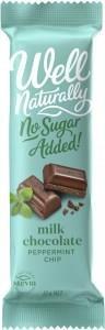 Well,naturally NAS Peppermint Crisp Milk Chocolate Bar 16x45g
