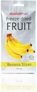 Absolute Fruitz Freeze Dried Banana Slices 20g