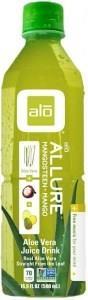 Alo Allure Aloe Vera + Mangosteen + Mango 500ml x 12