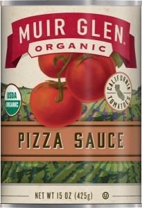 Muir Glen Pizza Sauce - Low fat 426gm