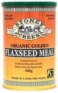 Stoney Creek Organic Golden Flaxseed Meal 500gm