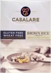 Casalare Brown Rice Twists 250g