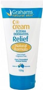 Grahams C+ Eczema & Dermatitis Cream Class I MD 120gm