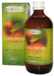 Reach For Life Colloidal Minerals Fulvic XL 500ml