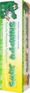 Snappy Jaws Toothpaste 75g Pineapple