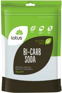 Lotus Bicarb Soda G/F 500g