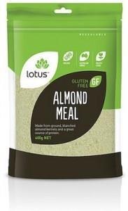 Lotus Almond Meal G/F 600g