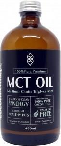 Coconut Magic 100% Pure Premium MCT Oil G/F 480ml
