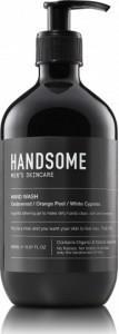 Handsome Men's Organic Skincare Hand Wash Cedarwood/Orange Peel/White Cypress 500ml