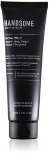 Handsome Men's Organic Skincare Facial Wash Ylang Ylang/Orange/Bergamot 125ml