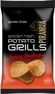 Piranha Potato Grills Saucy BBQ G/F 12x75g