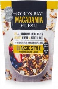 Byron Bay Macadamia Muesli Classic Style 900g