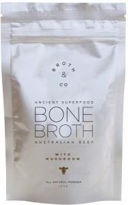Broth & Co Australian Beef Bone Broth with Mushroom 100g Pouch