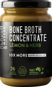 Gevity Rx Bone Broth Concentrate Lemon & Herb 260g