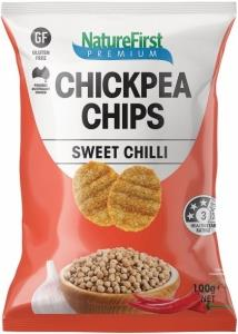 Nature First Chickpea with Sweet Chilli Chips G/F 100g