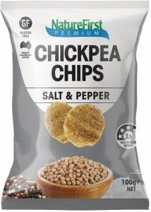 Nature First Chickpea with Salt & Pepper Chips 100g