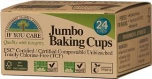 If You Care Jumbo Baking Cups 24Pcs
