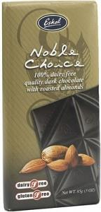 Eskal Noble Choice Almond Dairy Free Chocolate 85g
