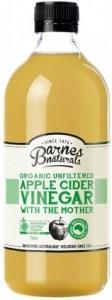 Barnes Naturals Organic Apple Cider Vinegar & The Mother 1L