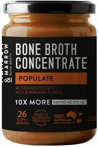 Meadow & Marrow Bone Broth Concentrate Populate 260g