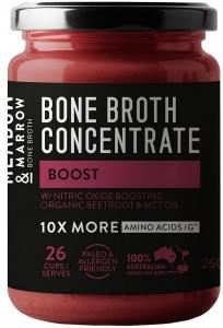 Meadow & Marrow Bone Broth Concentrate Boost 260g