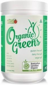 Vital Organic Greens G/F 200g