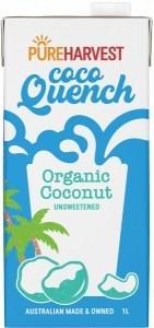 Pure Harvest Organic Coco Quench Milk G/F 1L