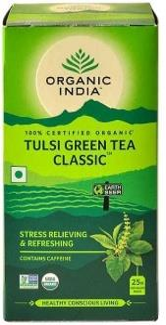 Organic India Tulsi Green Tea 25Teabags